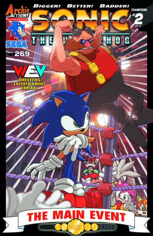 Sonic the Hedgehog #269 (SWE Cover)