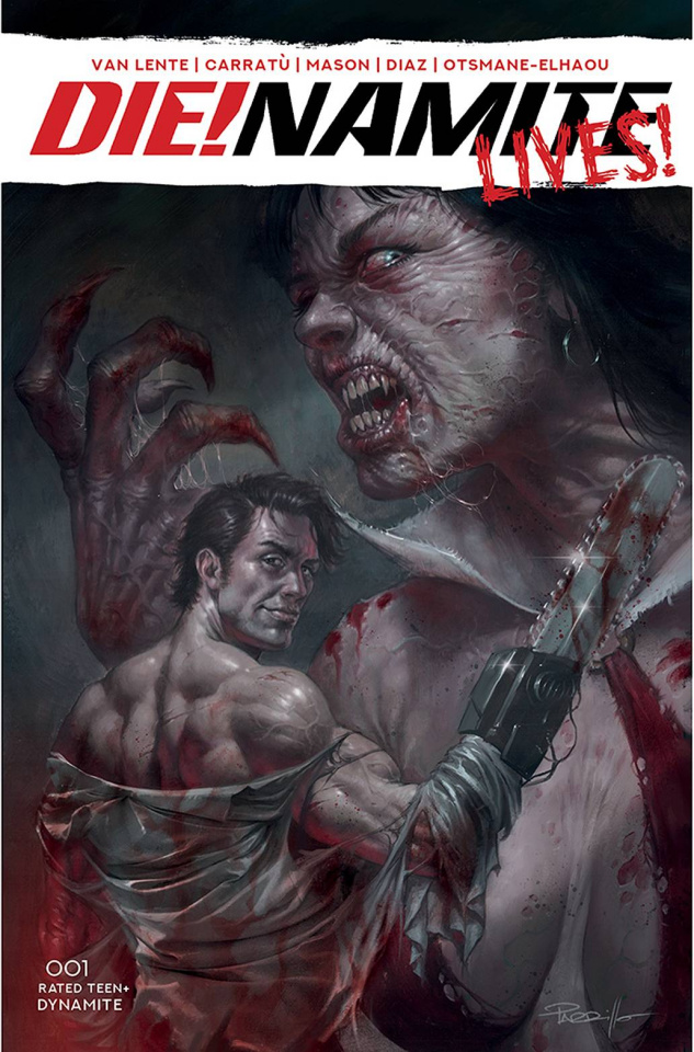 DIE!namite Lives! #1 (Parrillo Cover)