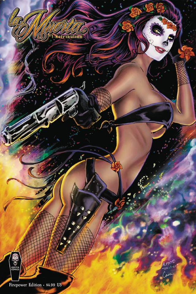 La Muerta: Retribution #1 (Firepower Cover)