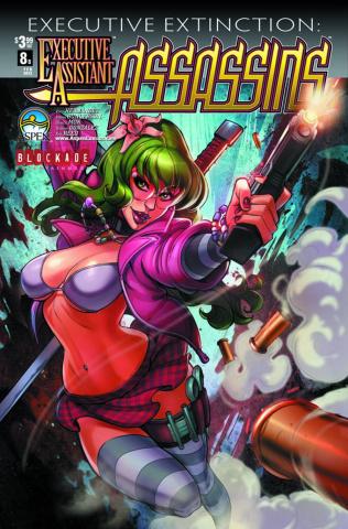 Executive Assistant: Assassins #8 (Quintero Cover)