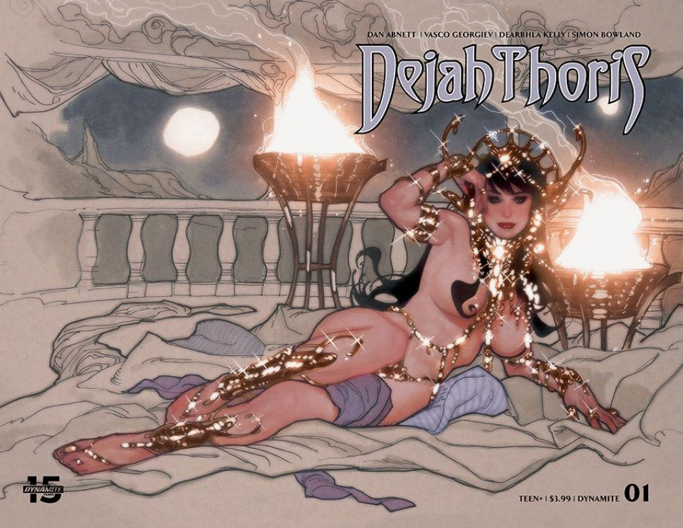 Dejah Thoris #1 (Hughes Cover)