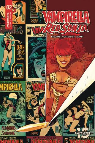 Red Sonja / Vampirella #2 (Romero & Bellaire Cover)