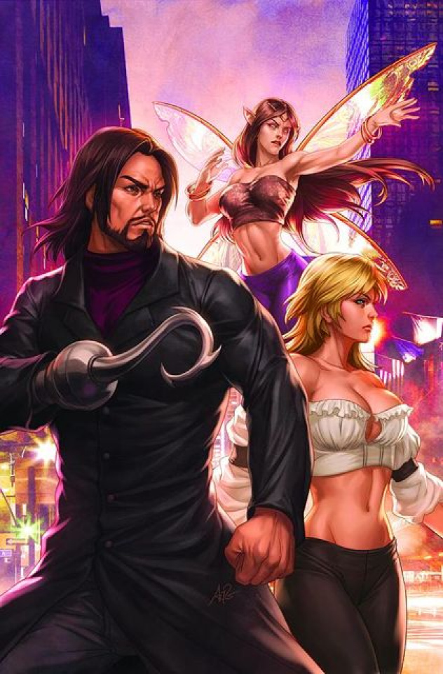 Grimm Fairy Tales Presents: Neverland - Hook #1 (Artgerm Cover)