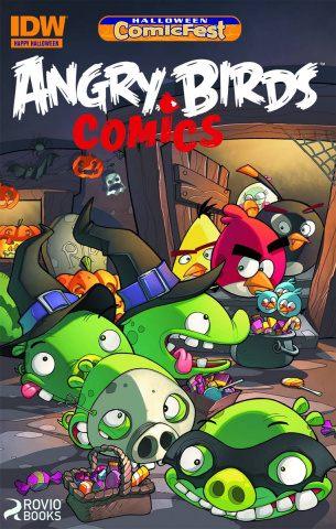 Angry Birds Comics Halloween ComicFest 2014