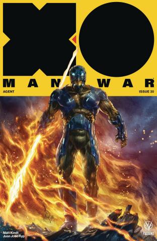 X-O Manowar #20 (Quah Cover)
