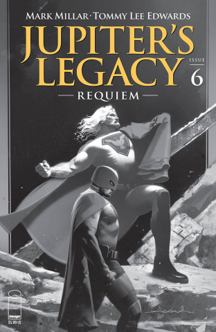 Jupiter's Legacy: Requiem #6 (Dekal B&W Cover)
