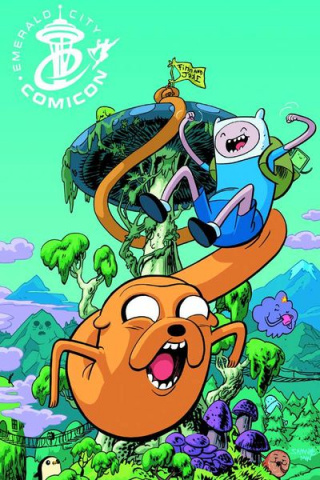 Adventure Time #1 (ECCC Cover)