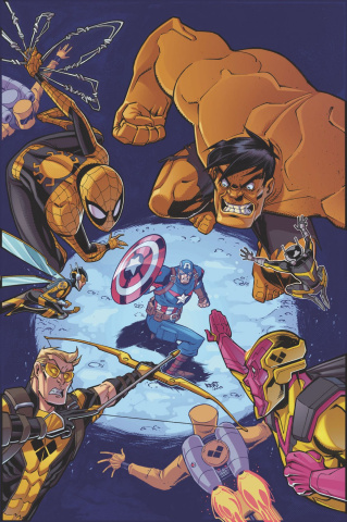 Marvel Action: Avengers #10 (Sommariva Cover)
