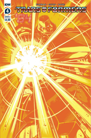 The Transformers '84: Secrets & Lies #4 (Guidi Cover)
