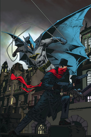 The Shadow / Batman #4 (20 Copy Nowlan Cover)