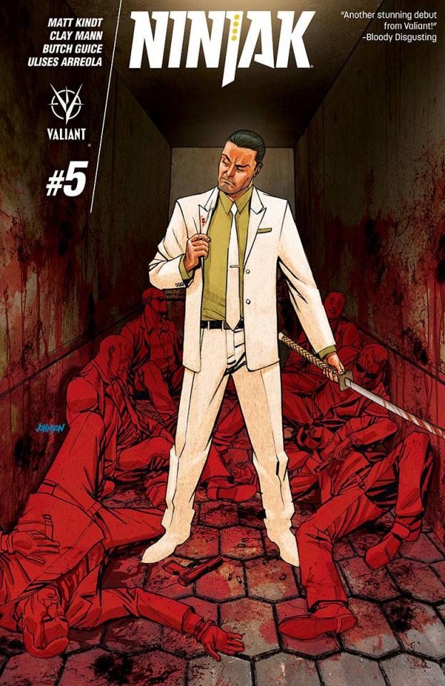 Ninjak #5 (Johnson Cover)