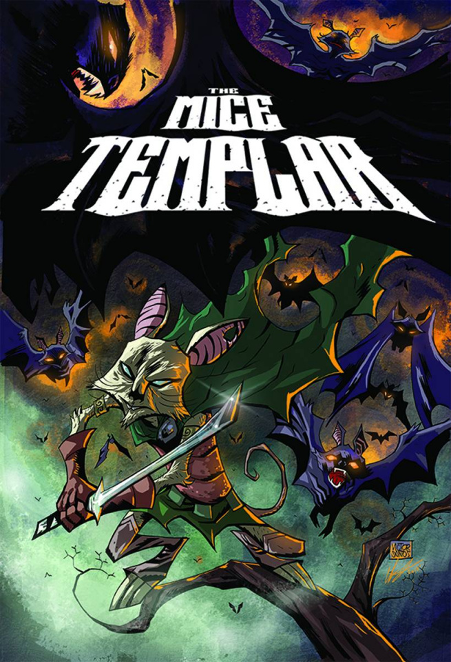 Mice Templar: The Legend #9 (Santos & Free Cover)