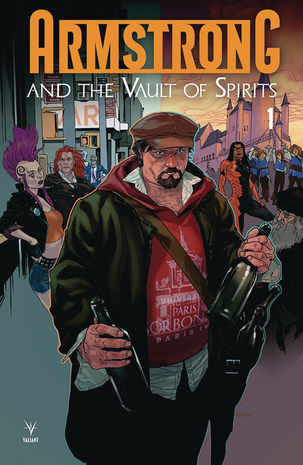 Armstrong and The Vault of Spirits #1 (Andrasofszky Cover)