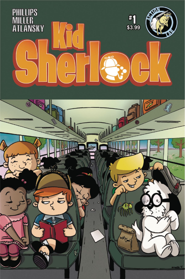 Kid Sherlock #1 (Miller Cover)