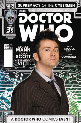 Doctor Who: Supremacy of the Cybermen #3 (Photo Cover)