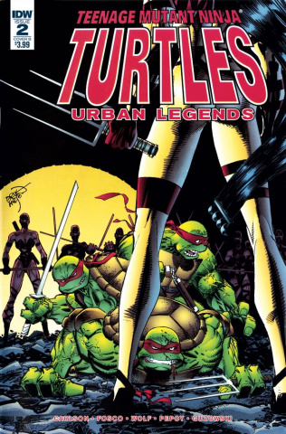 Teenage Mutant Ninja Turtles: Urban Legends #2 (Larsen Cover)