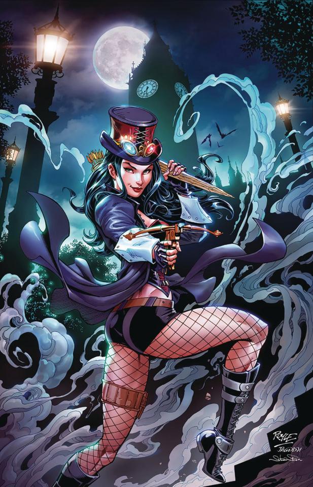 Van Helsing vs. Dracula's Daughter #1 (Royle Cover)