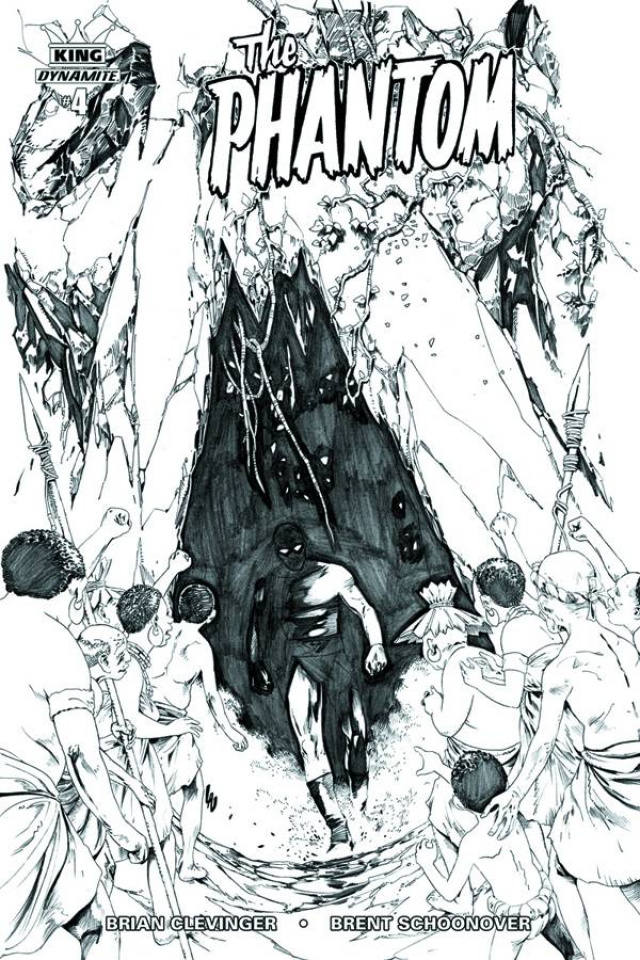 The Phantom #4 (10 Copy Lau B&W Cover)