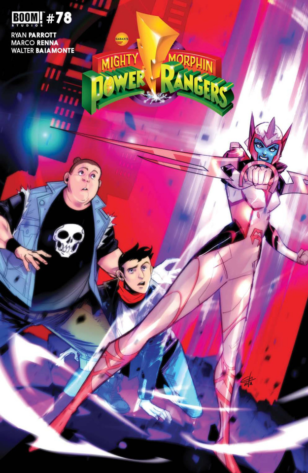 Mighty Morphin #12 (Legacy Carlini Cover)