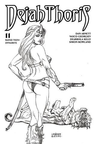 Dejah Thoris #11 (20 Copy Linsner B&W Cover)