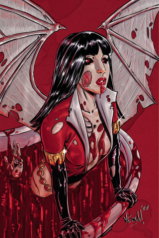 Vampirella: The Dark Powers #2 (25 Copy Federici Zombie Virgin Cover)