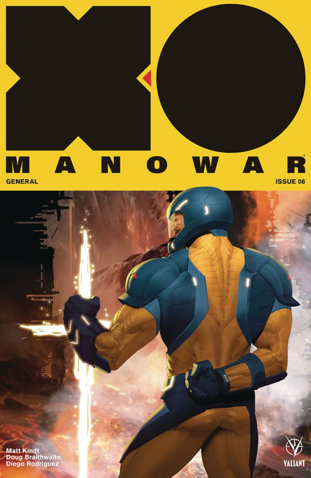 X-O Manowar #6 (50 Copy Icon Olivetti Cover)