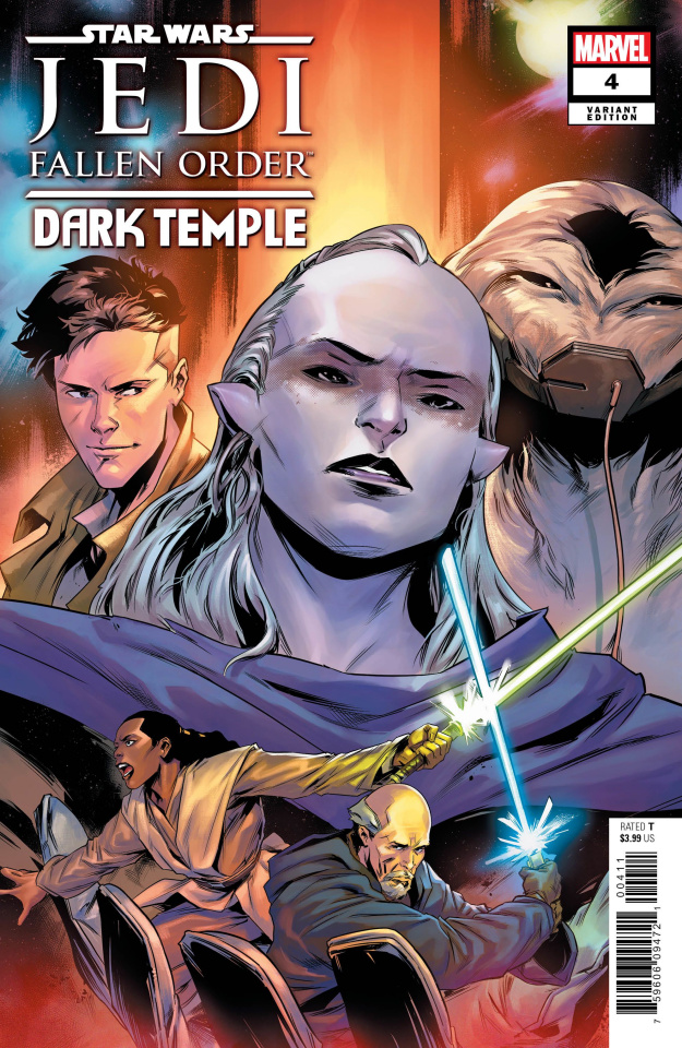 Star Wars: Jedi - Fallen Order, Dark Temple #4 (Villanelli Cover)