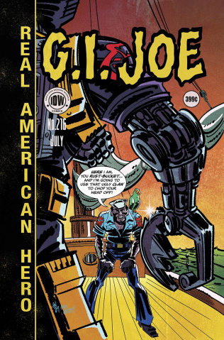G.I. Joe: A Real American Hero #216 (EC Subscription Cover)