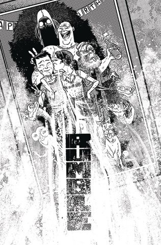 Rumble #14 (B&W Rubin Cover)