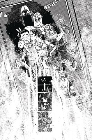 Rumble #14 (B&W Rubin Cover)