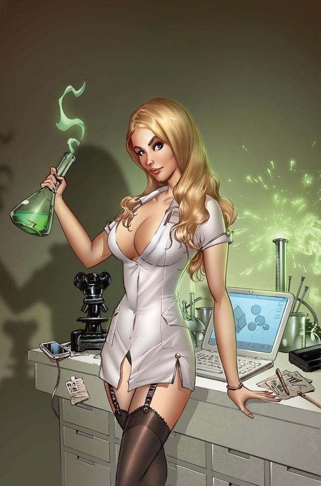 Grimm Fairy Tales: Van Helsing vs. Frankenstein #2 (Dooney Cover)