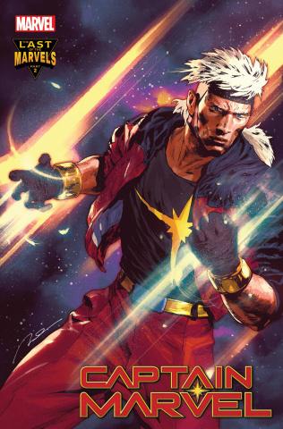 Captain Marvel #33 (Spoiler Teaser Cover)