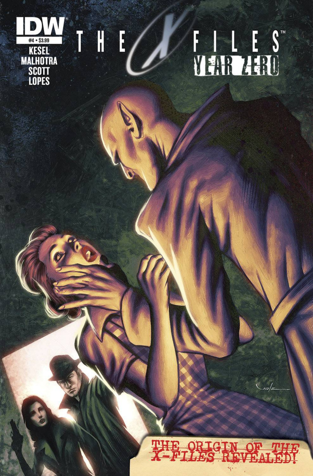 The X-Files: Year Zero #4