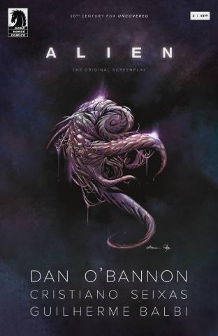 Alien: The Original Screenplay #3 (Balbi Cover)
