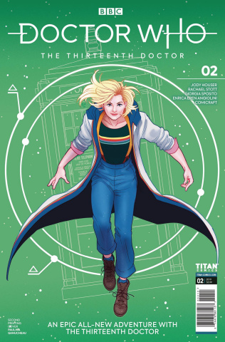 Doctor Who: The Thirteenth Doctor #2 (2nd Printing)