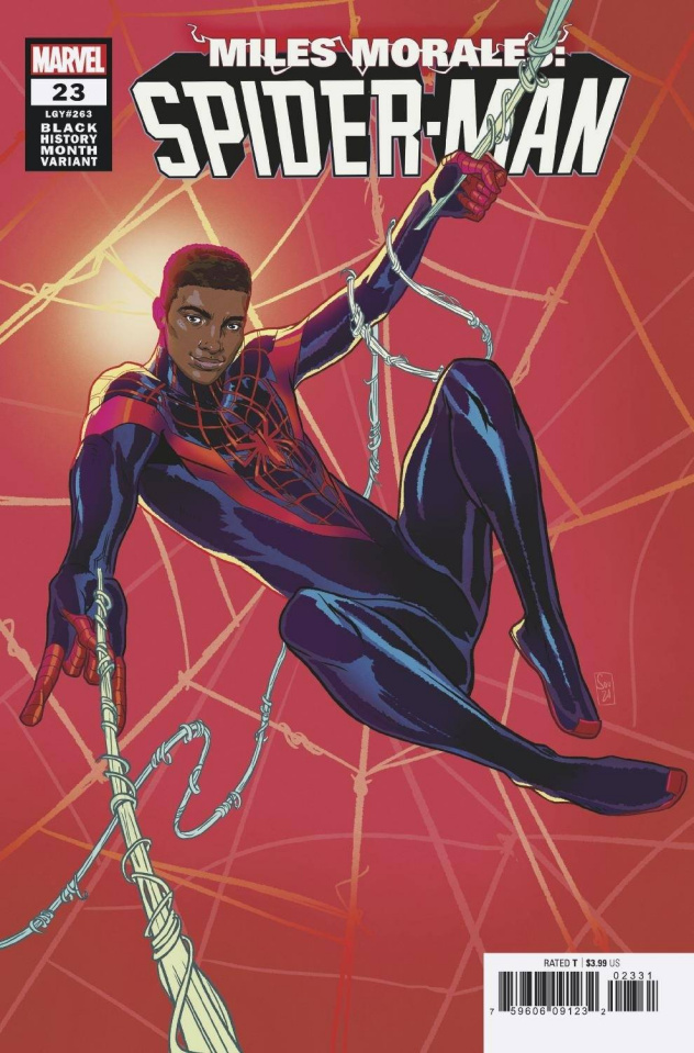 Miles Morales: Spider-Man #23 (Souza Black History Month Cover)