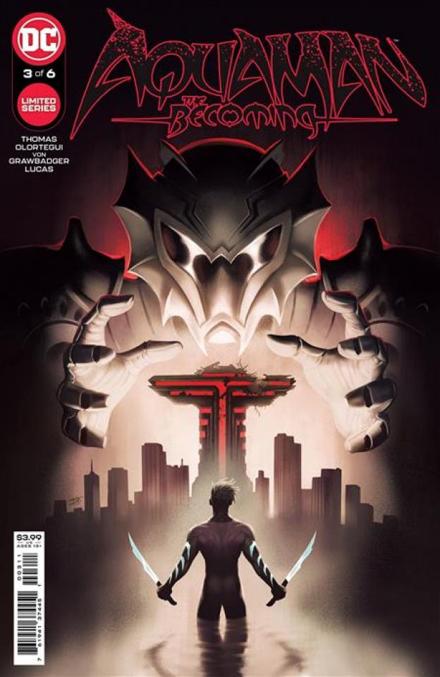 Aquaman: The Becoming #3 (David Talaski Cover)
