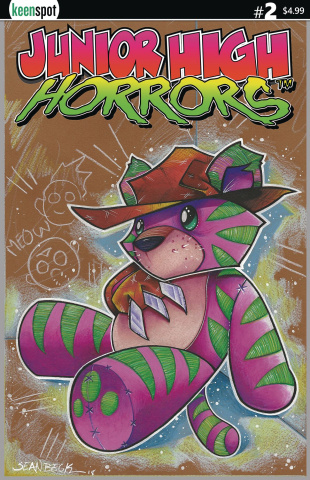 Junior High Horrors #2 (Frederick Toy Cover)