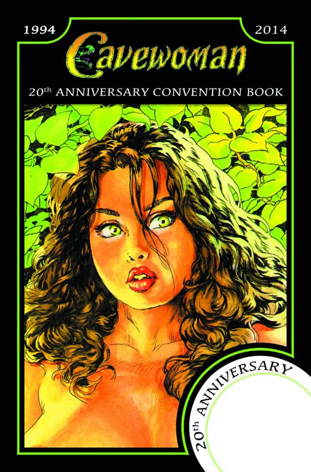 Cavewoman: 20th Anniversary Convention Book