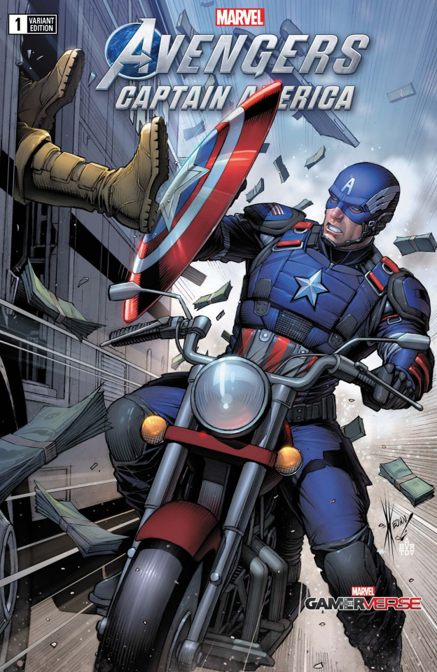 Avengers: Captain America #1 (Keown Cover)