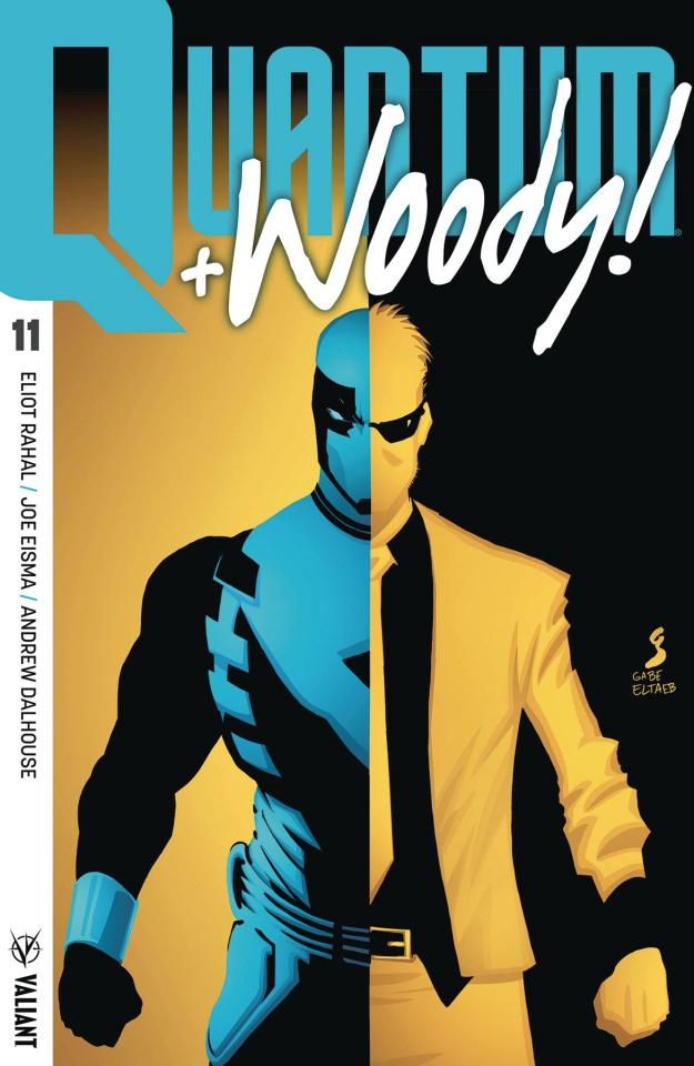 Quantum & Woody #11 (Ultra Foil Shaw Cover)