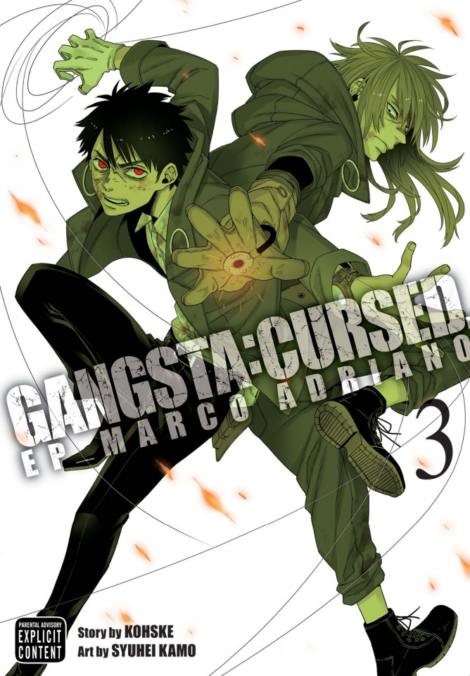 Gangsta: Cursed Vol. 3