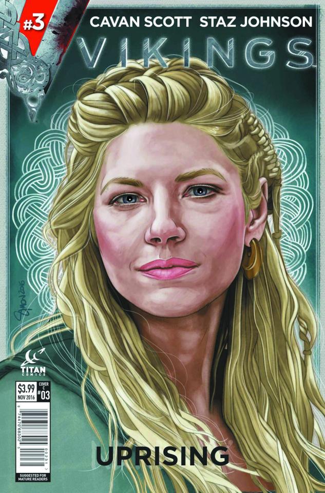 Vikings: Uprising #3 (Myers Cover)