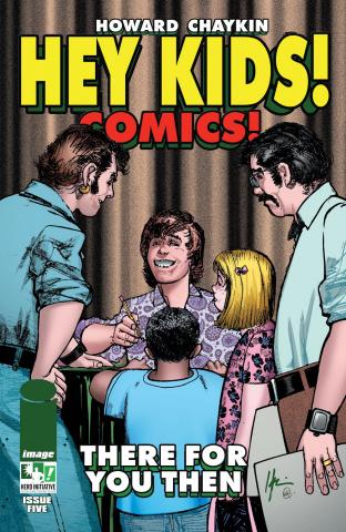 Hey Kids! Comics! #5 (Hero Initiative Cover)