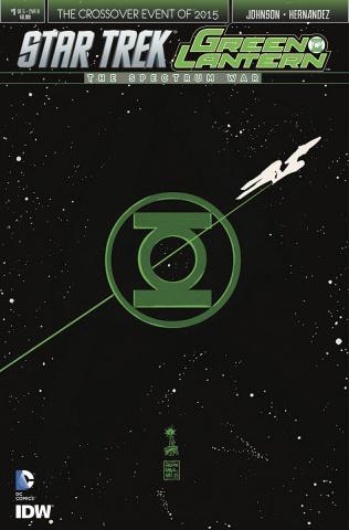Star Trek / Green Lantern #1 (Francavilla Cover)