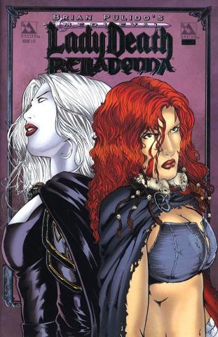 Medieval Lady Death / Belladonna #1/2 (Platinum Foil Cover)