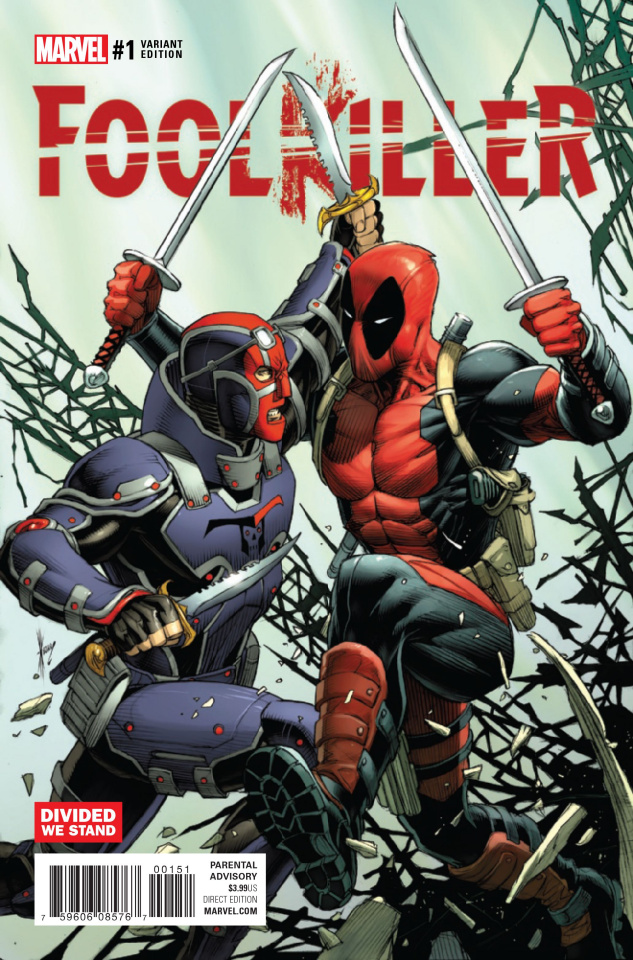 Foolkiller #1 (Keown Divided We Stand Cover)