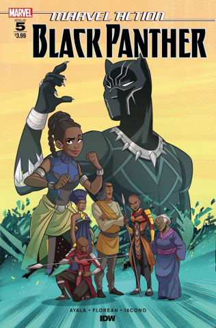 Marvel Action: Black Panther #5 (Florean Cover)