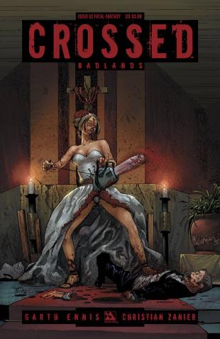 Crossed: Badlands #52 (Fatal Fantasy Cover)