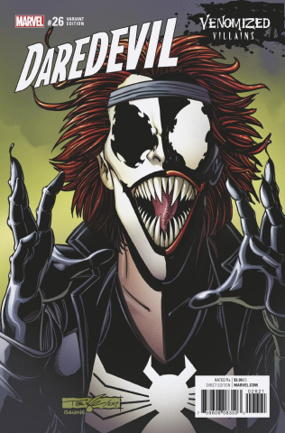 Daredevil #26 (Venomized Typhoid Mary Cover)